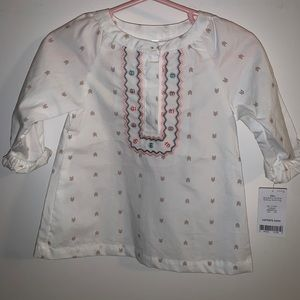NWT Carter's BoHo Top with Buttons